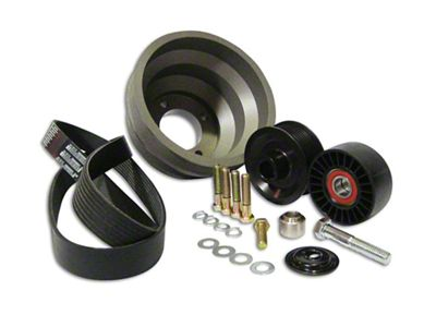Vortech 8-Rib Non-Underdrive Pulley Package (86-93 5.0L)