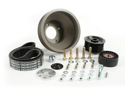 Vortech 8-Rib Underdrive Pulley Package (86-93 5.0L)