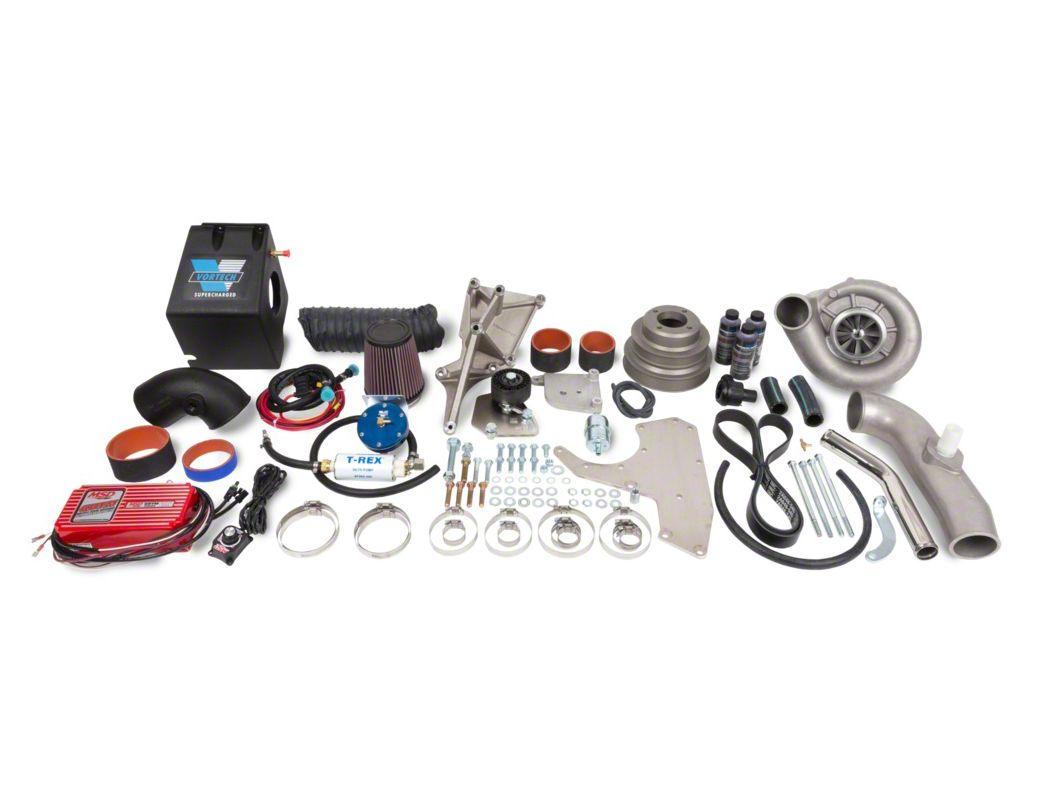 Vortech V-1 H/D Ti-Trim H.O. Supercharger Kit - Polished (86-93 5.0L)