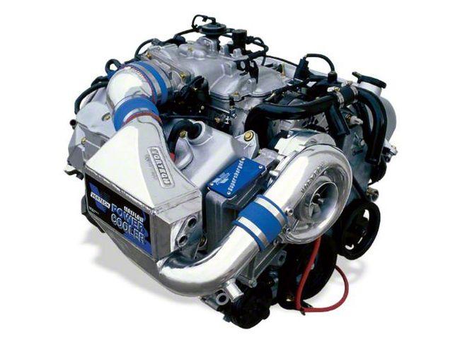 Vortech V-2 SCi-Trim Supercharger Tuner Kit w/ Charge Cooler - Satin (2001 Cobra)