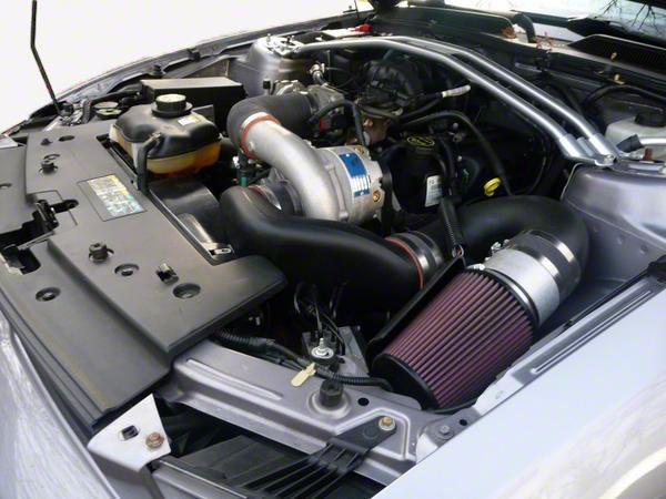 Vortech V-2 Si-Trim Supercharger Tuner Kit - Polished (05-09 V6)