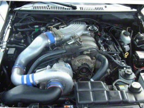 Vortech V-2 Si-Trim Supercharger Tuner Kit - Polished (2001 Bullitt)