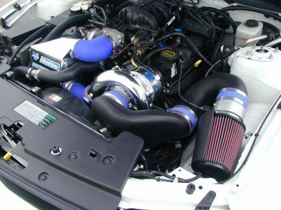 Vortech V-2 Si-Trim Supercharger Tuner Kit w/ Charge Cooler - Polished (05-09 V6)