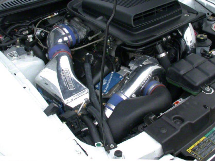 Vortech V-3 SCi-Trim Supercharger Tuner Kit w/ Charge Cooler - Polished (03-04 Mach 1)