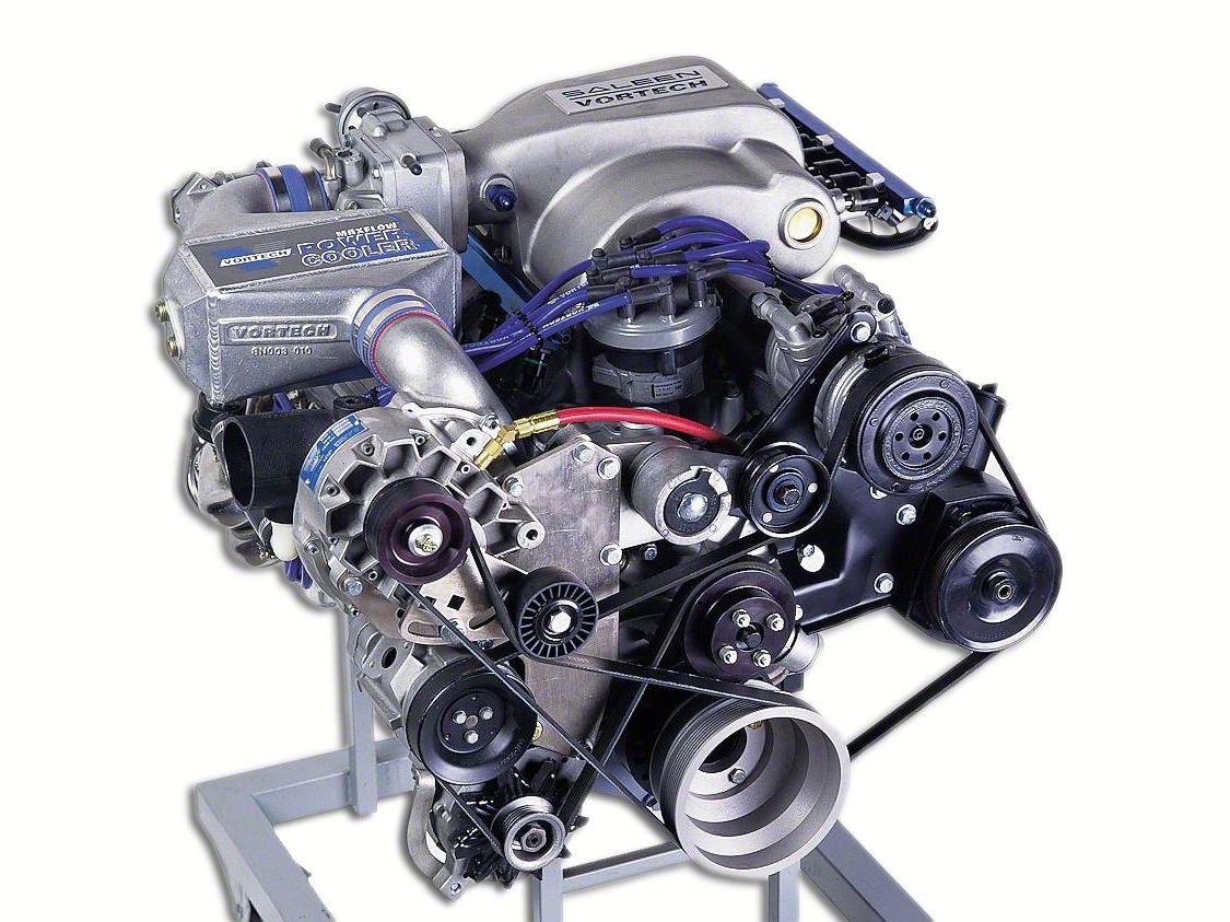 Vortech V-3 Si-Trim H.O. Supercharger Kit - Polished (86-93 5.0L)
