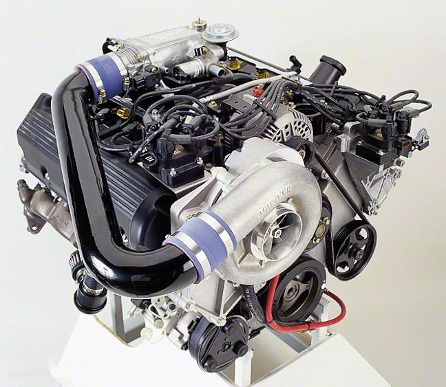 Vortech V-3 Si-Trim Supercharger Kit - Polished (96-98 GT)