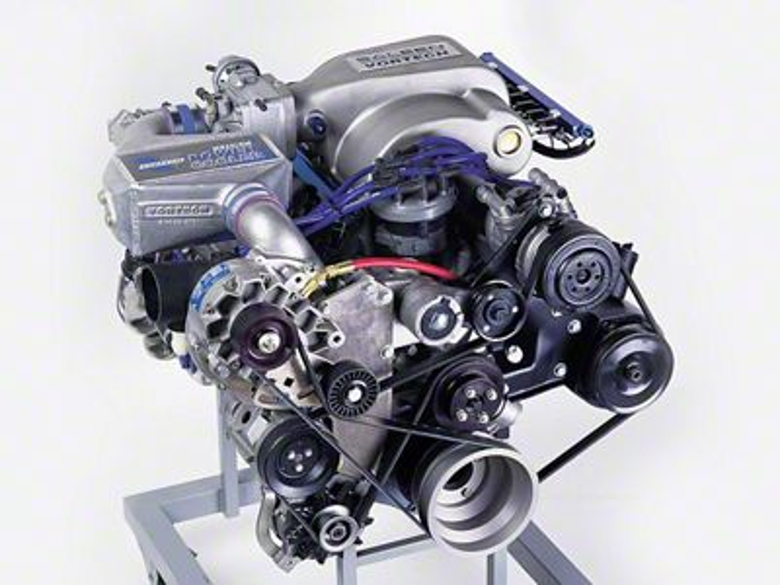 Vortech V-3 Si-Trim Supercharger Tuner Kit w/ Charge Cooler - Polished (86-93 5.0L)