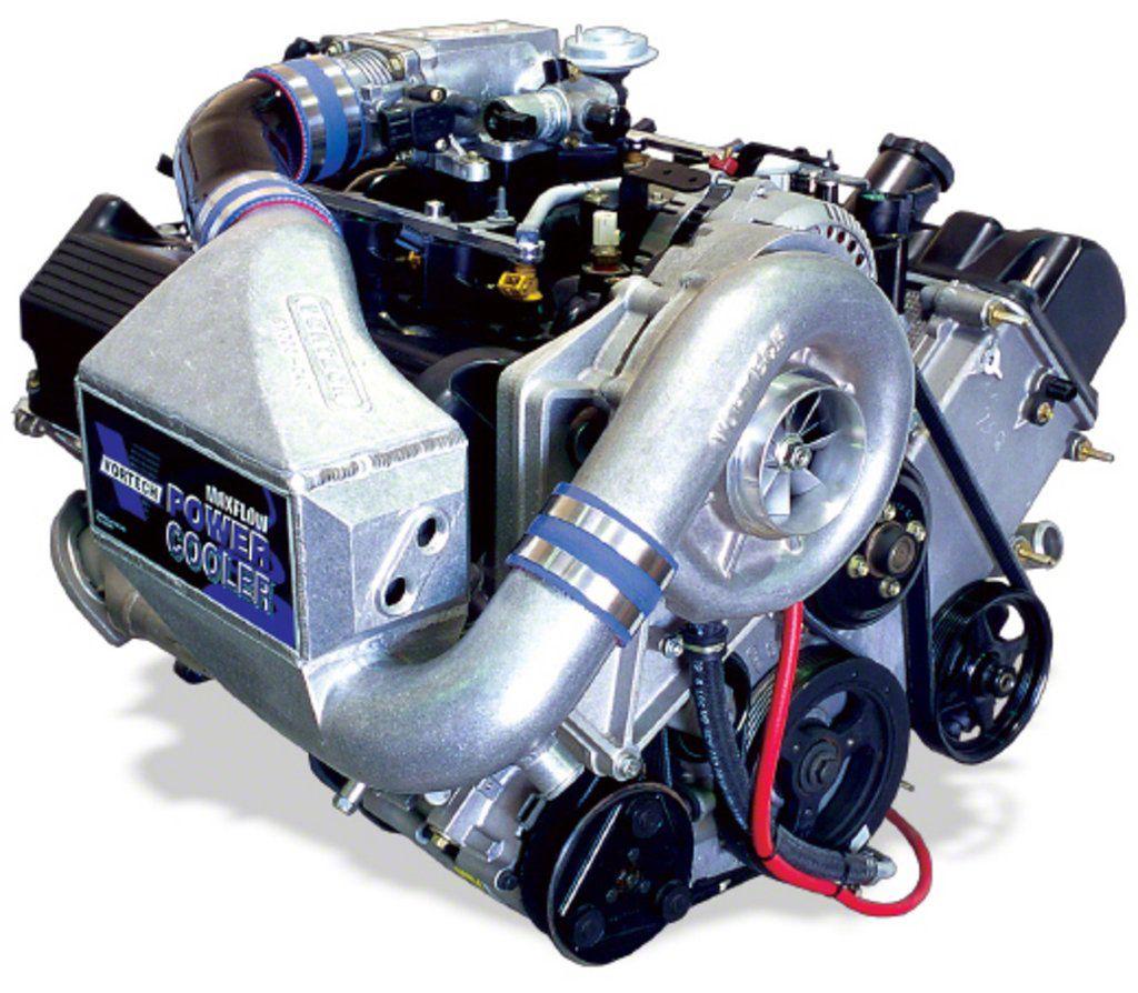 Vortech V-3 Si-Trim Supercharger Tuner Kit w/ Charge Cooler - Satin (99-04 GT)