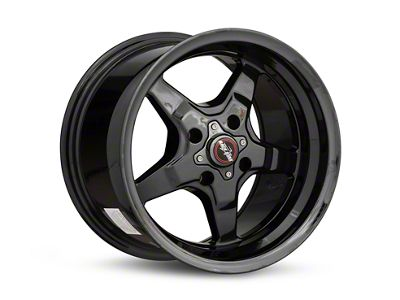 Race Star 91 Drag Star Black Chrome Wheel - 15x10 (87-93 All, Excluding Cobra)
