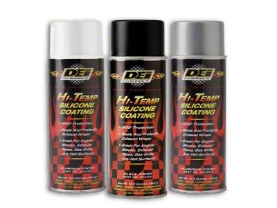 DEI Hi-Temp Slicone Coating - Assortment Case - 2 of Each Color (79-19 All)