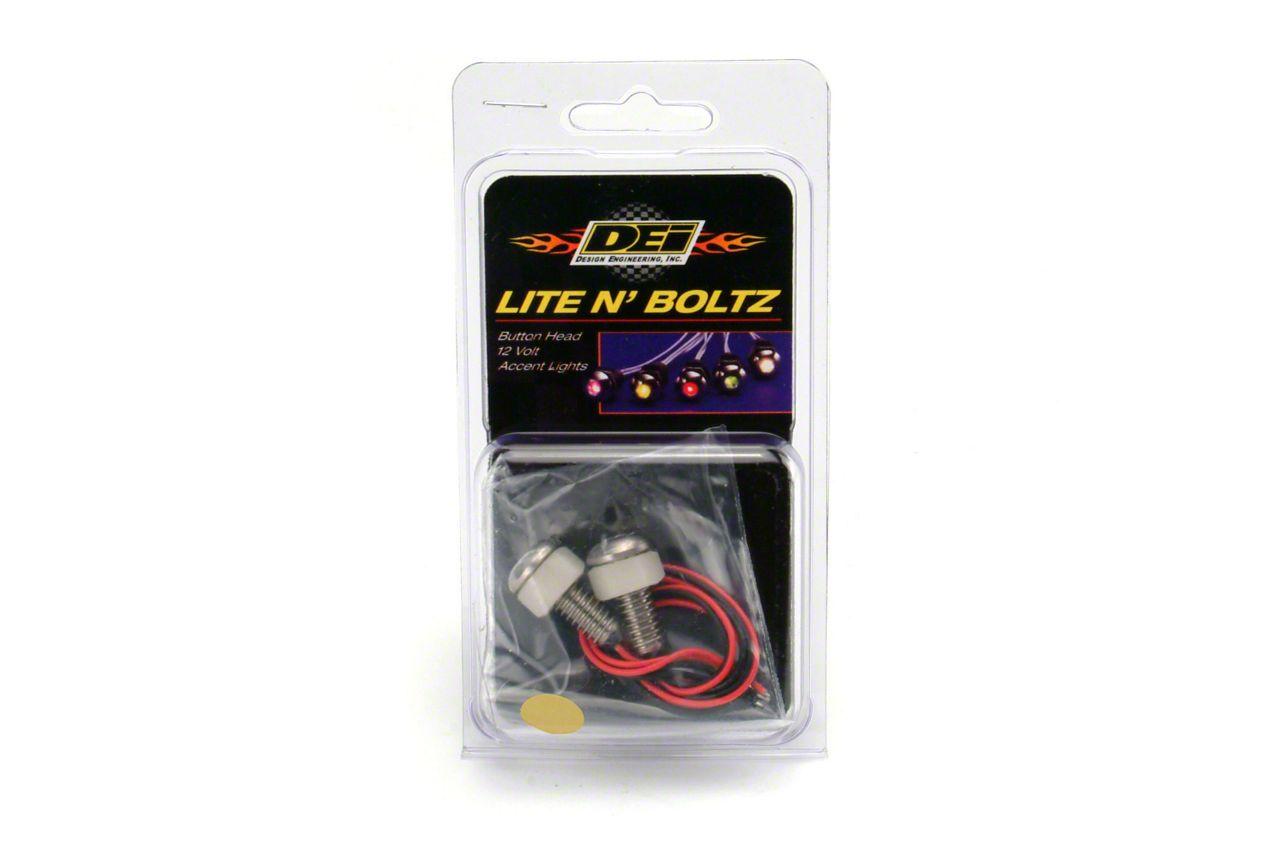 DEI LED Lite N Boltz Accent Lighting - Amber (79-19 All)