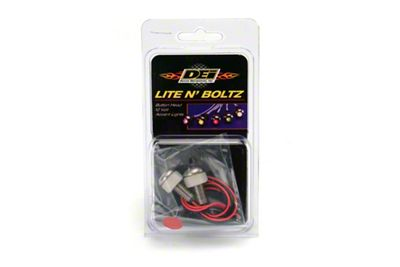 DEI LED Lite N Boltz Accent Lighting - Red (79-19 All)