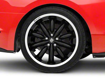 Shelby CS56 2.0 Black Wheel - 20x11 - Rear Only (15-19 GT, EcoBoost, V6)