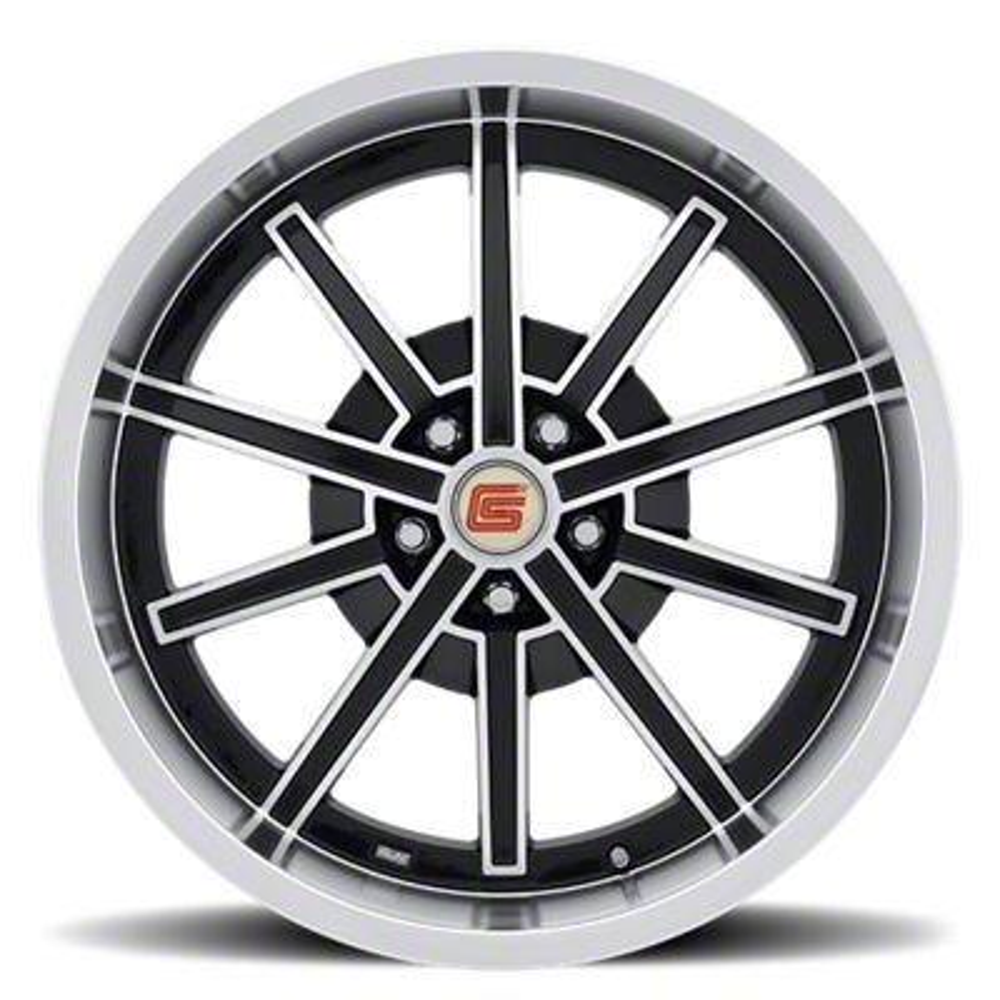 Shelby CS67 Black Wheel - 20x10 - Rear Only (15-19 GT, EcoBoost, V6)
