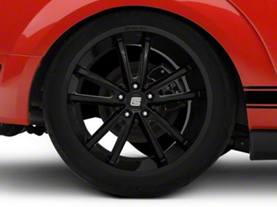 Shelby CS2 Black Wheel - 20x11 - Rear Only (05-14 All)