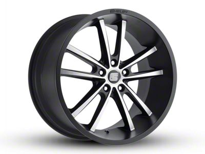 Shelby CS2 Black w/ Machined Face Wheel - 20x11 - Rear Only (05-14 All)
