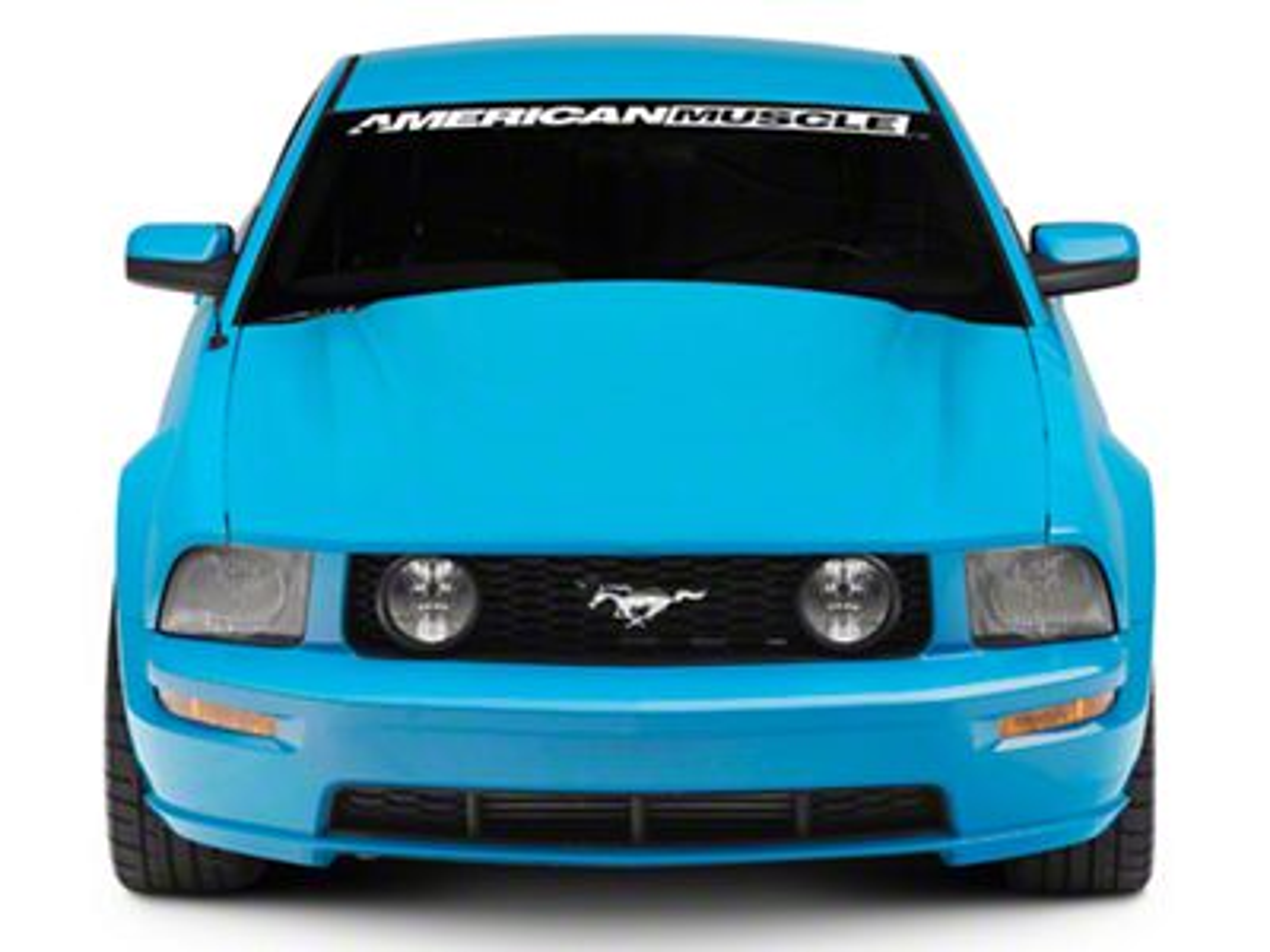SpeedForm Cobra Style Hood - Unpainted (05-09 GT, V6)