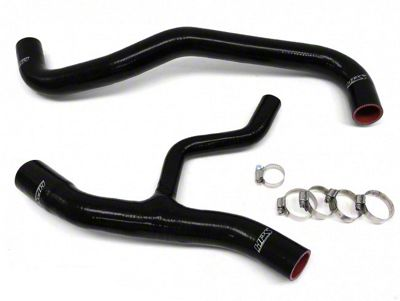 HPS Silicone Radiator Coolant Hose - Black (02-04 GT)