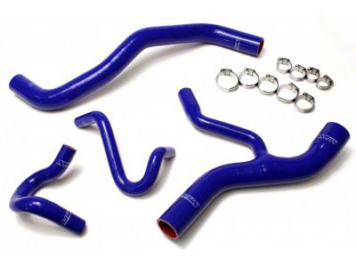 HPS Silicone Radiator Coolant & Heater Hose - Blue (96-04 GT)