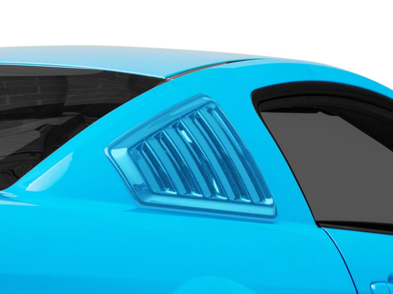 SpeedForm Quarter Window Louvers - Pre-Painted (05-14 Coupe)