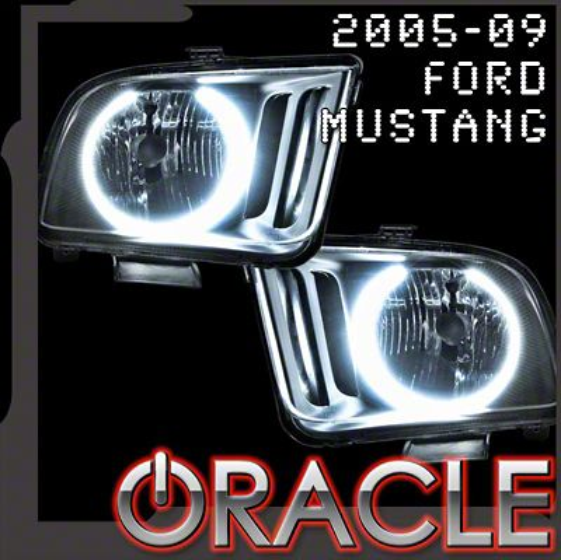 Oracle Black OE Style Headlights w/ CCFL Halos (05-09 GT, V6)