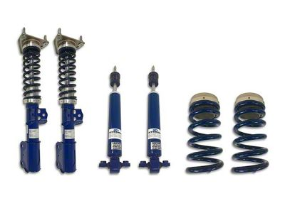 Steeda Pro-Action Front Coilovers w/ Adjustable Rear Ride Height Kit (15-19 GT, EcoBoost, V6 w/o MagneRide)