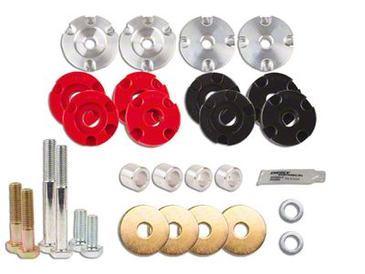 Steeda IRS Differential Bushing Insert System - Street to Full Race Combo Kit (15-19 GT)