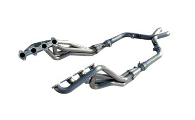 American Racing Headers 1-3/4 in. Long Tube Headers w/ Off-Road H-Pipe (05-10 GT)