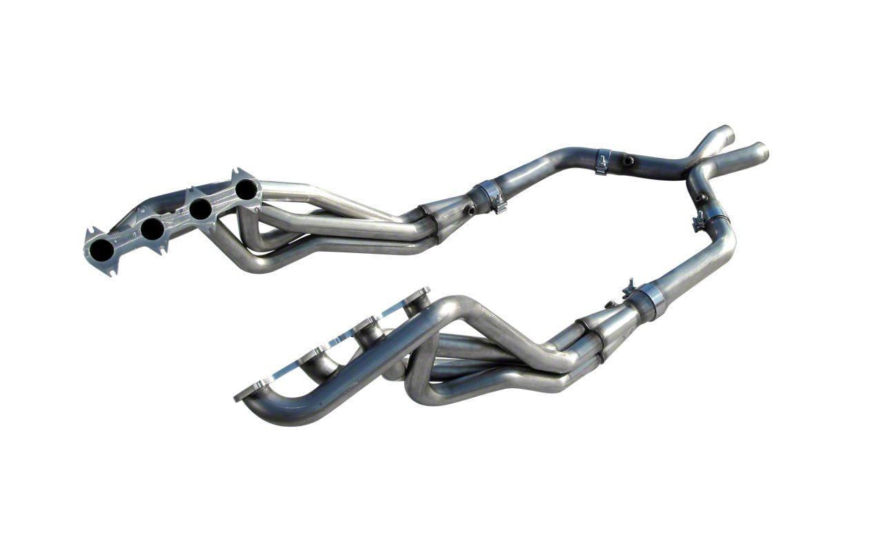 American Racing Headers 1-5/8 in. Long Tube Headers w/ Off-Road X-Pipe (05-10 GT)