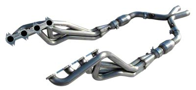 American Racing Headers 1-5/8 in. Long Tube Headers w/ Catted X-Pipe (05-10 GT)