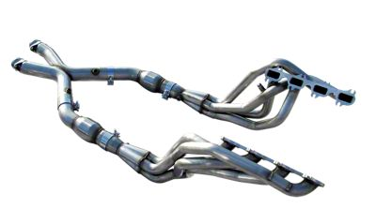 American Racing Headers 1-3/4 in. Long Tube Headers w/ Catted X-Pipe (99-04 Cobra, Mach 1)