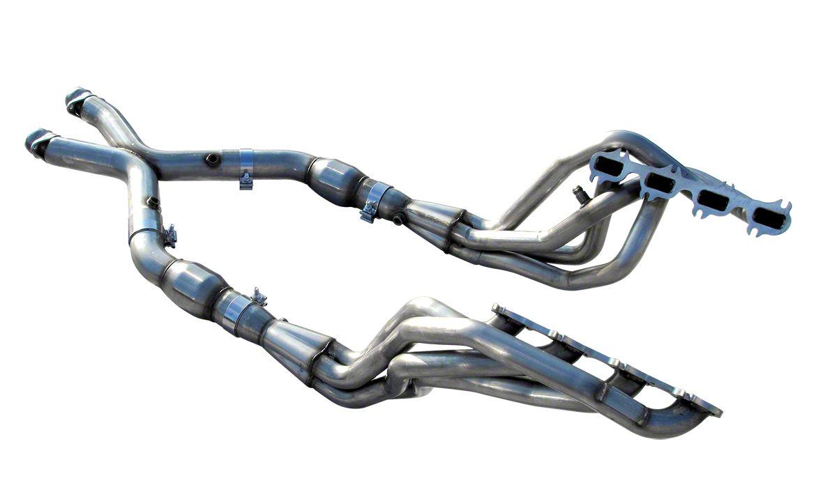 American Racing Headers 1-7/8 in. Long Tube Headers w/ Catted X-Pipe (99-04 Cobra, Mach 1)
