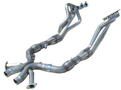 American Racing Headers 1-7/8 in. Long Tube Headers w/ Catted X-Pipe (12-13 BOSS 302)
