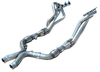 American Racing Headers 1-7/8 in. Long Tube Headers w/ Catted H-Pipe (11-14 GT)