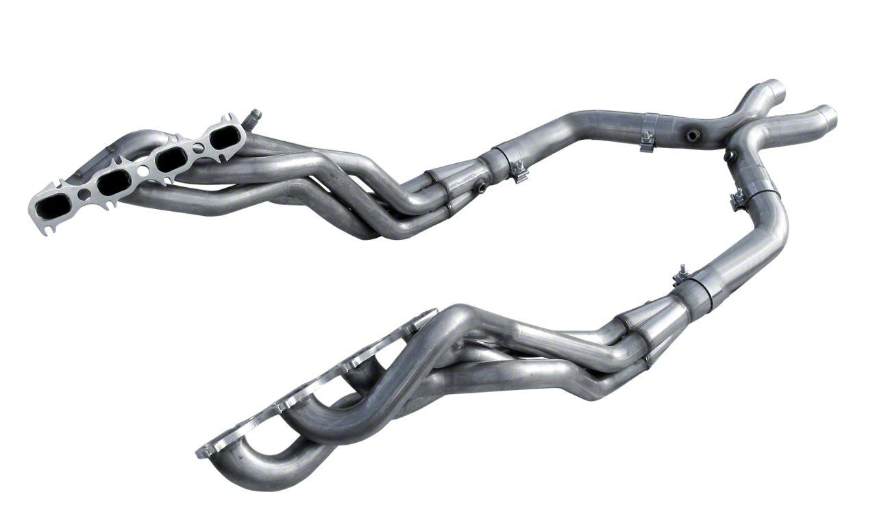 American Racing Headers 1-7/8 in. Long Tube Headers w/ Off-Road H-Pipe (11-14 GT500)