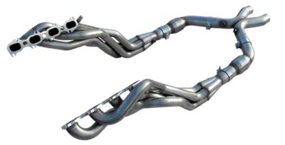 American Racing Headers 1-7/8 in. Long Tube Headers w/ Catted X-Pipe (11-14 GT500)