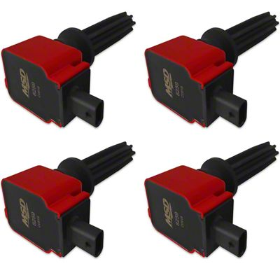 MSD Coil Packs - Red (15-19 EcoBoost)
