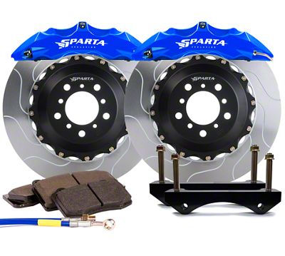 Sparta Evolution Saturn Front Big Brake Kit - Signature Blue (05-14 All)