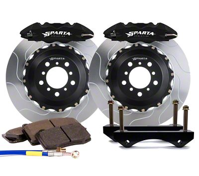 Sparta Evolution Saturn Front Big Brake Kit - Black (15-19 All)