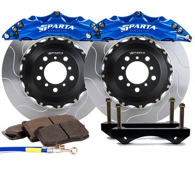 Sparta Evolution Triton Front Big Brake Kit - Signature Blue (15-19 All)