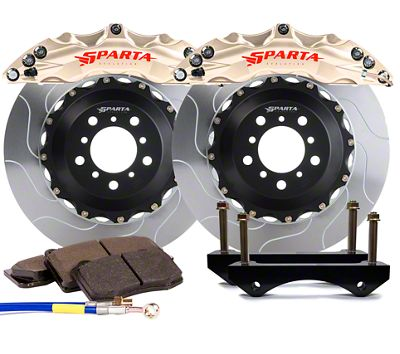 Sparta Evolution Triton Front Big Brake Kit - Nickel Alloy (15-19 All)