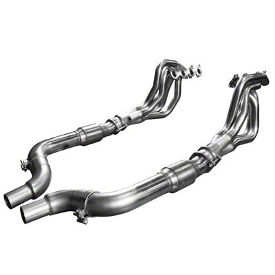 Kooks 2 in. Long Tube Green Catted Headers (15-19 GT)