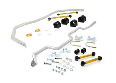 Whiteline Adjustable Front & Rear Sway Bars (05-14 All)