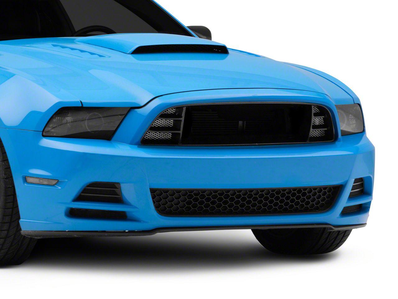 Anderson Composites Type-13/14 Upper Grille - Carbon Fiber (13-14 GT, V6; 10-14 GT500)