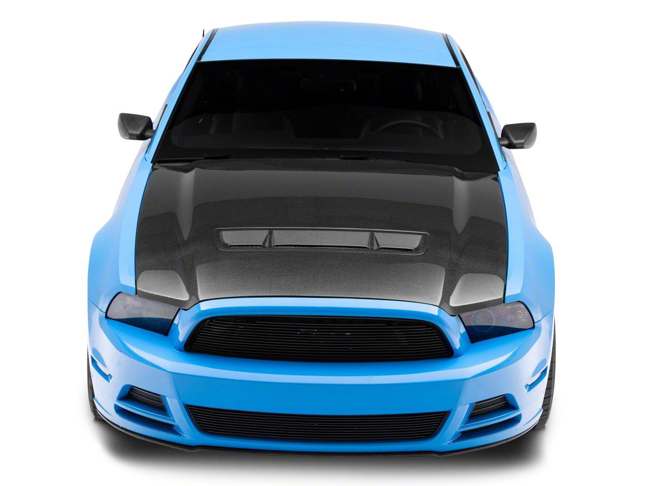 Anderson Composites Type-GT Hood - Carbon Fiber (13-14 GT, V6; 10-14 GT500)