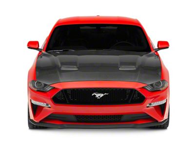 Anderson Composites Type-OE Hood - Carbon Fiber (18-19 GT, EcoBoost)