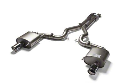 Remus Sport Active Cat-Back Exhaust w/ Straight Cut Chrome Tips (15-17 GT)