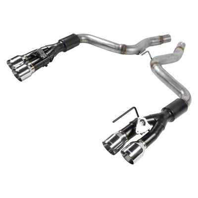 Flowmaster Outlaw Axle-Back Exhaust w/ Polished Tips (18-19 GT w/ Active Exhaust)