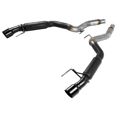 Flowmaster Outlaw Axle-Back Exhaust w/ Black Tips (15-19 EcoBoost w/o Active Exhaust)
