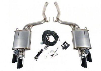 Roush Active Axle-Back Exhaust (18-19 GT w/o Active Exhaust)